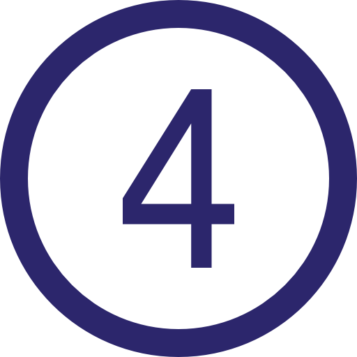 Step Four icon for Star Laundromat, the best laundromat in Cape Cod, located in Hyannis, MA. Clean your clothes at our friendly, self-serve vended laundry machines or drop-off your laundry with our wash and fold service. We are open everyday and accept credit cards.